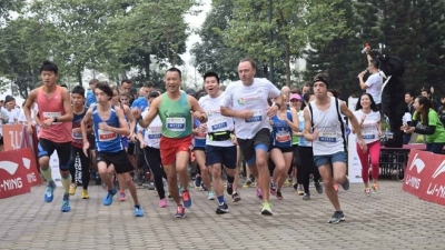 Half marathon in support of ending bear farms