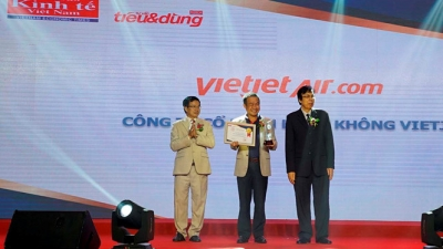 Vietjet awarded 'most favourite airline' title
