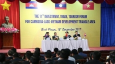 Cambodia, Laos, Vietnam boost trade, investment