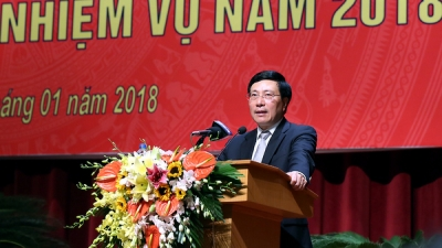 Diplomatic sector helps raise Vietnam's position