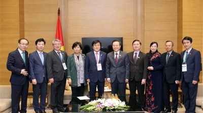 Vice NA Chairman receives RoK parliamentary delegation