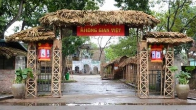 Vietnam's traditional culture reproduced at Co Loa relic site