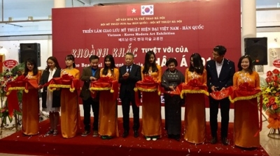 Vietnam – RoK art exhibition kicks off