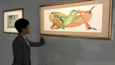 Exhibition touches children's literary world of crickets
