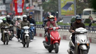 North Vietnam welcomes new cold spell