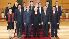 Party chief meets ASEAN ambassadors on Lunar New Year