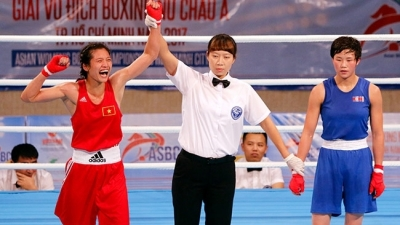 Vietnam's gifted female boxers