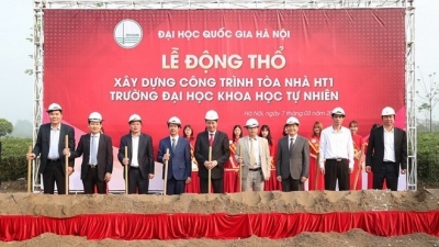 Work starts on new building at Hanoi University of Science