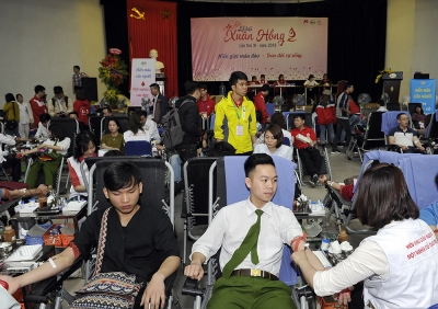 Vietnam's largest blood donation festival opens