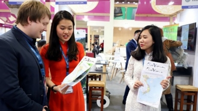 Vietnam's maps showcased at Berlin International Tourism Fair