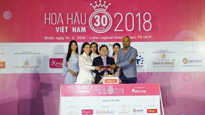 Vietjet named transport sponsor of Miss Vietnam 2018