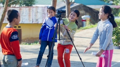 Children join film making festival in Cao Bang