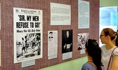 Exhibition recalls Americans' opposition for US war in Vietnam