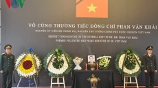 International delegations pay tribute to late PM Phan Van Khai