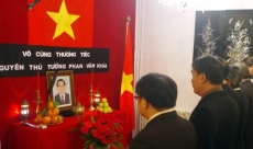 Late PM Phan Van Khai remembered abroad