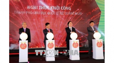 Construction of first international education city in Vietnam commenced