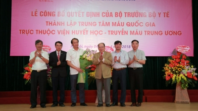 National Blood Centre makes debut in Vietnam