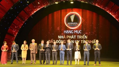 Winners of Vietnam Property Awards honoured