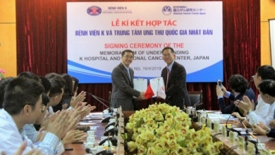 Vietnam, Japan agree to cooperate on cancer treatments