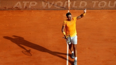 Nadal strolls past Bedene in Monte Carlo, Djokovic passes Coric test