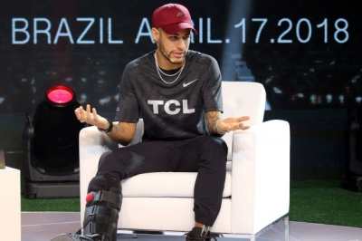 Neymar vows to work harder than ever to be ready for World Cup