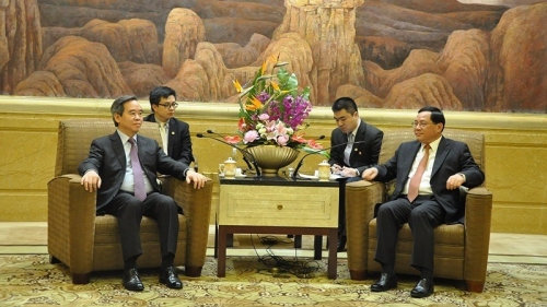 Senior Vietnamese Party official visits Shanghai