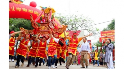 Pho Hien folk cultural festival kicks off in Hung Yen