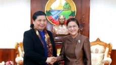 Vietnam, Laos beef up legislative ties