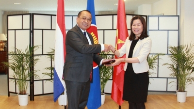 Vietnam takes chairmanship at ASEAN Committee in The Hague