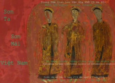 April 30 – May 6: Exhibition on Traditional Paints in Vietnam