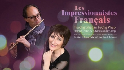 May 21-27: Piano-Flute Duet Concert: French Impressionism in HCMC