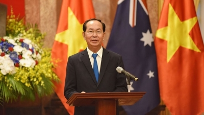 Vietnam proud to have a friend like Australia: President Tran Dai Quang