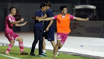 V.League Round 12 Review: Saigon FC win relegation six-pointer