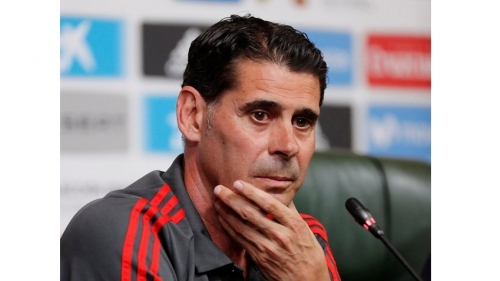 Fernando Hierro named Spain's new national team coach for World Cup