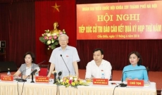 Party chief clears up concerns of Hanoi voters