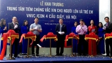 Vietnams' largest vaccination centre inaugurated in Hanoi