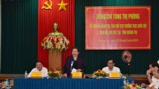 NA Standing vice Chairwoman works with Quang Tri