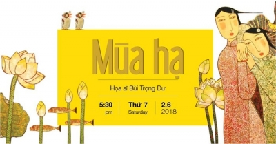"June 25 – July 1: Exhibition ""Summer"" by Bui Trong Du in Hanoi"