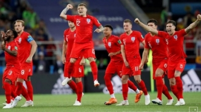 England ends penalty curse to reach last eight