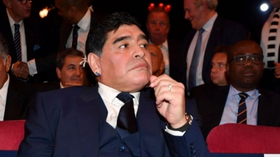 "Maradona criticized by FIFA for ""monumental theft"" comments"