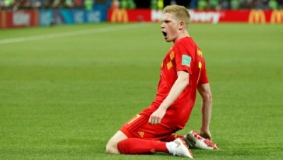 Belgium holds off Brazil in thriller to reach semis