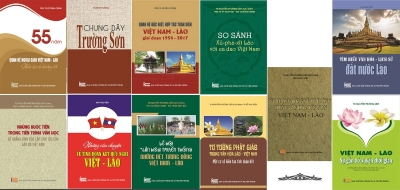 Book series on Vietnam-Laos friendship unveiled