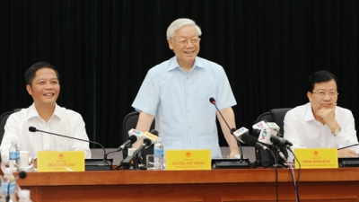 Party chief underlines MOIT's role in Vietnamese economy