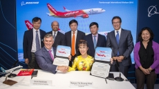 Vietjet buys 100 new Boeing aircraft