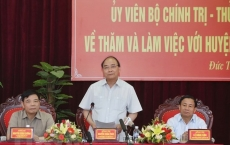 Duc Tho urged to become first new styled rural district in Ha Tinh