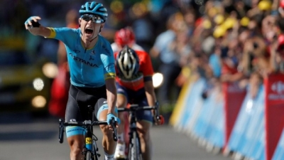Cycling: Cort Nielsen takes win, Thomas in yellow ahead of rest day