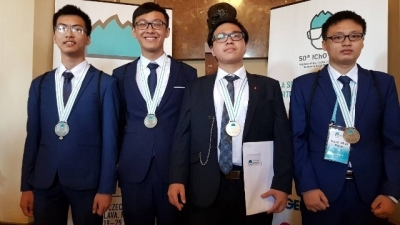 Vietnam wins gold at 2018 International Chemistry Olympiad
