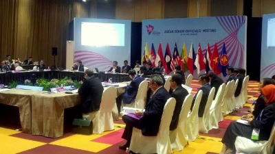 ASEAN officials discuss preparations for Foreign Ministers' Meeting