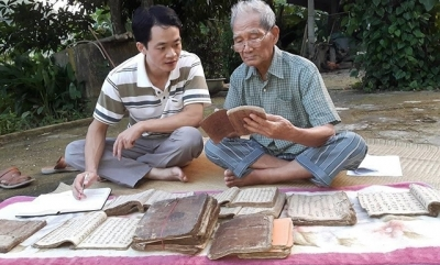 Bac Kan province works to digitalise ancient documents of local minority groups