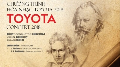 August 13-19: Toyota Concert 2018 in HCMC